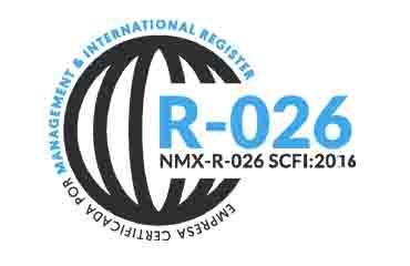 R026 NMX-R-026 SCFI:2016