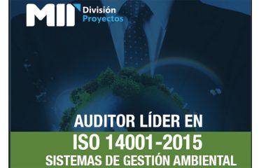 AUDITOR LÍDER EN ISO 14001 – 2015, SISTEMAS DE GESTIÓN AMBIENTA