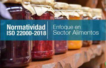 NORMATIVIDAD ISO 22000-2018 (ENFOCADA AL SECTOR ALIMENTOS)
