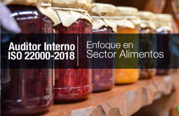 AUDITOR INTERNO ISO 22000-2018 (ENFOCADA AL SECTOR ALIMENTOS)